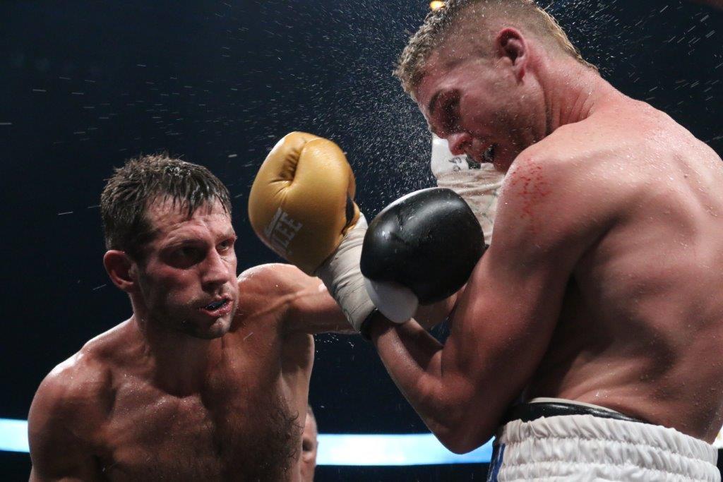 Top-Fights beim EC Boxing-Event – Igor Mikhalkin wird erster ECB-Weltmeister