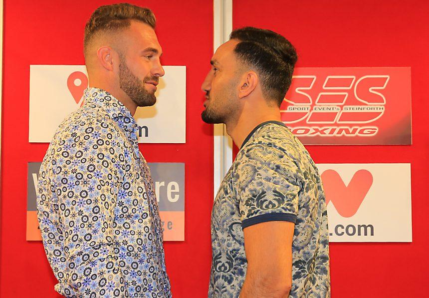 Europameisterschaft im Halbschwergewicht – Dominic Bösel vs. Karo Murat