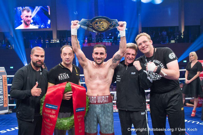 Karo Murat will gegen Isidro Ranoni Prieto Weltmeister werden
