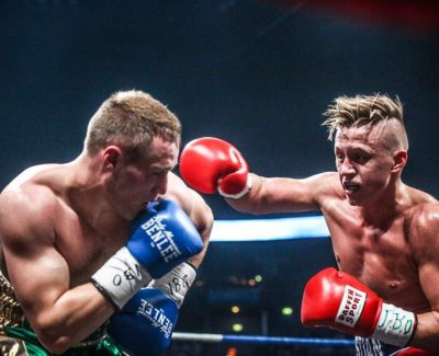 ECB-Fighter Sebastian Formella boxt am 9. September in Berlin