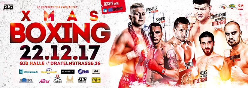 XMAS Boxing am 22.12. in Hamburg mit Dimitrenko, Granat, Smakici, Keles, Formella und Seferi
