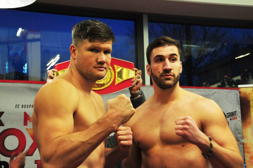 Alexander Dimitrenko bringt 116,5 Kilogramm auf die Waage