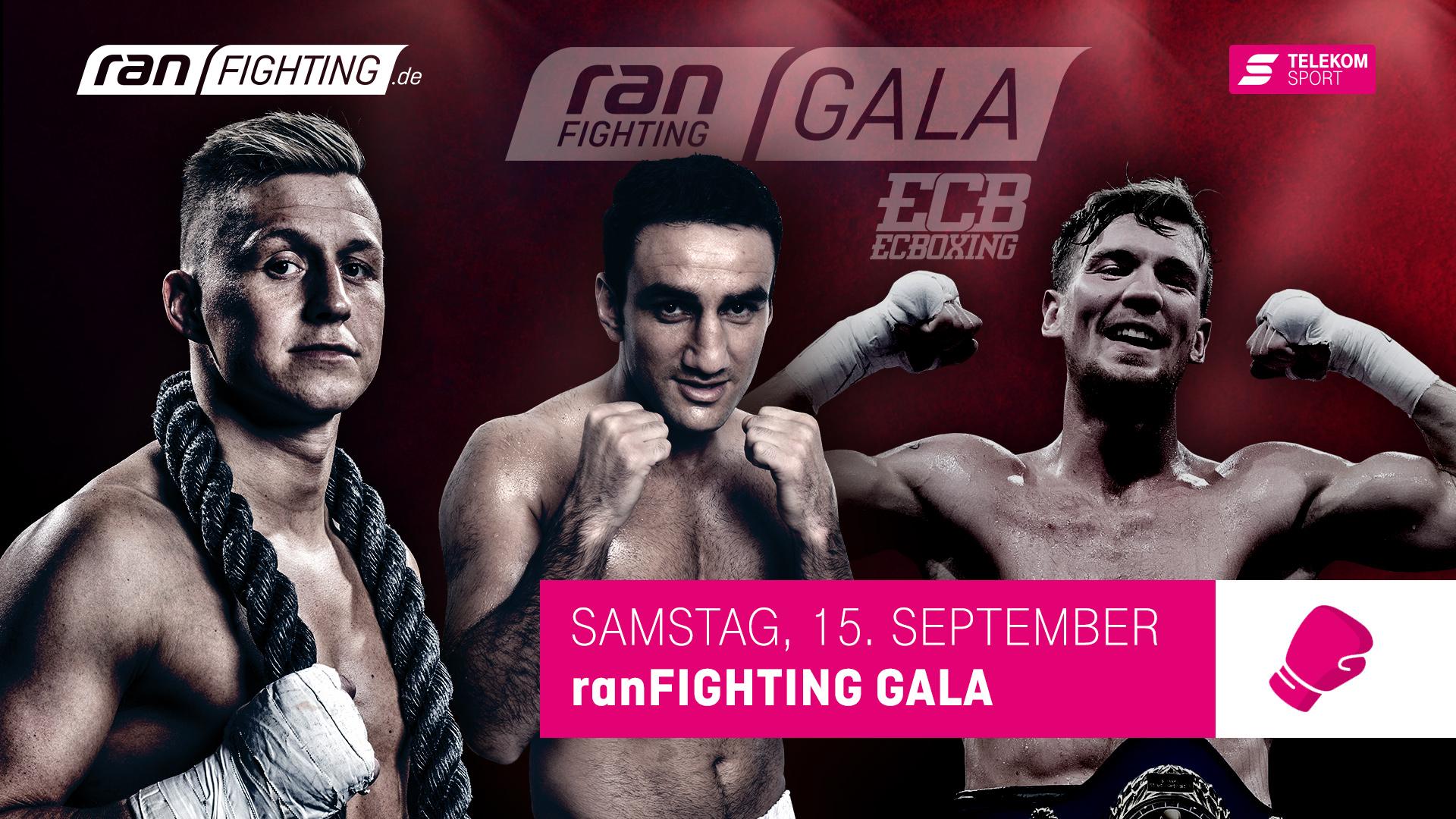 ran FIGHTING Gala am 15. September in Lübeck – IBO-WM zwischen Karo Murat und Sven Fornling