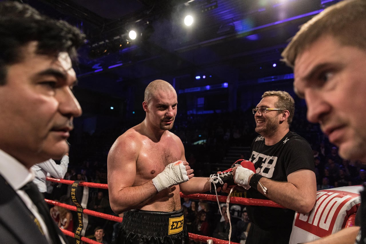Comeback: Adrian Granat zurück bei EC Boxing