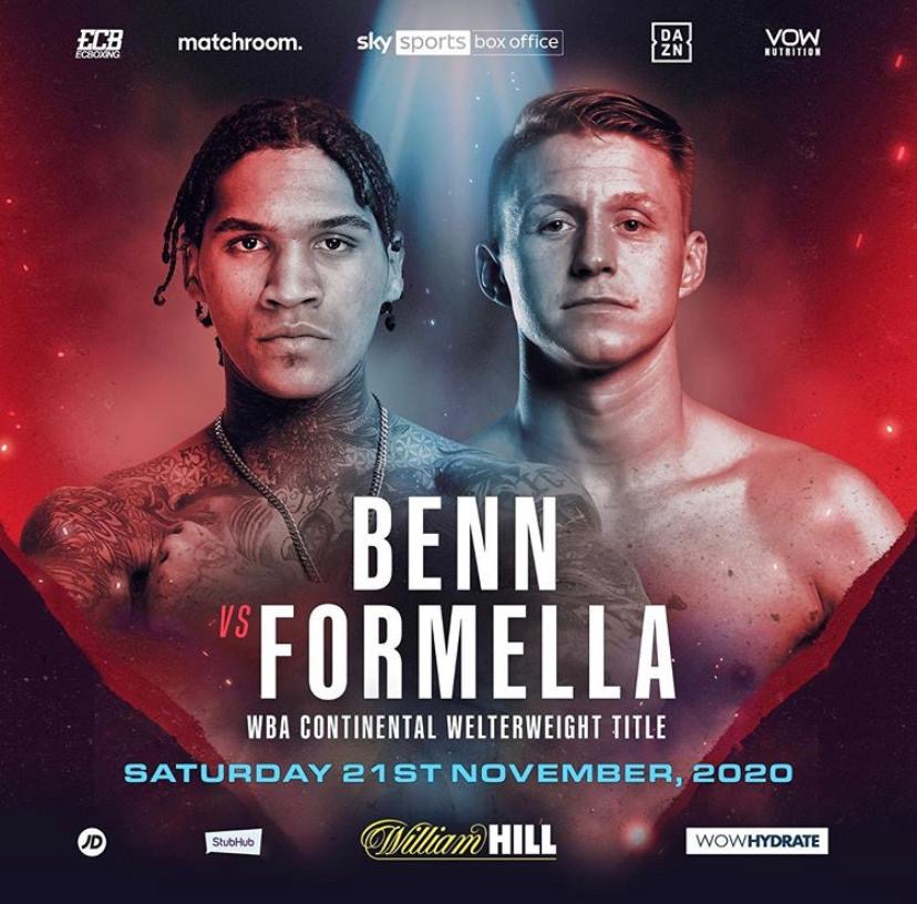 Sebastian Formella vs. Conor Benn nun Hauptkampf in Wembley