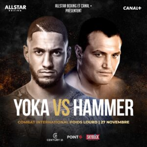 Christian Hammer vs. Tony Yoka am 27. November