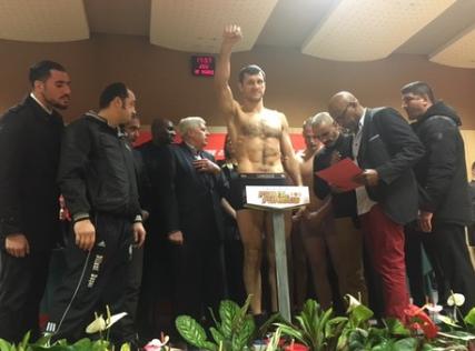 Igor Mikhalkin verteidigt seinen EM-Titel am Samstag gegen Patrick Bois