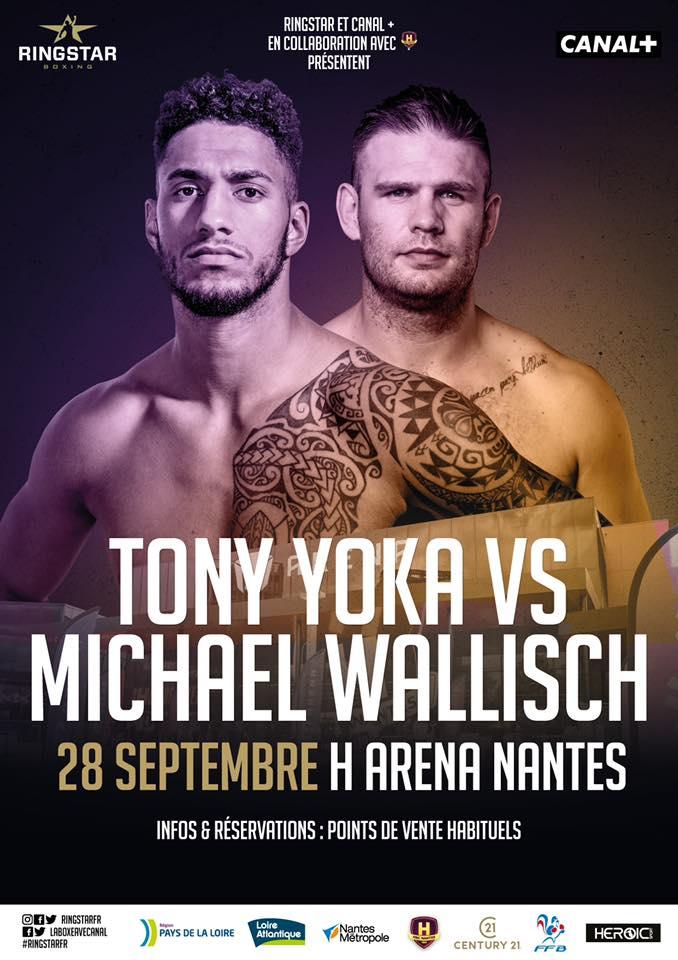 Michael Wallisch trifft am 28. September auf Olympiasieger Tony Yoka