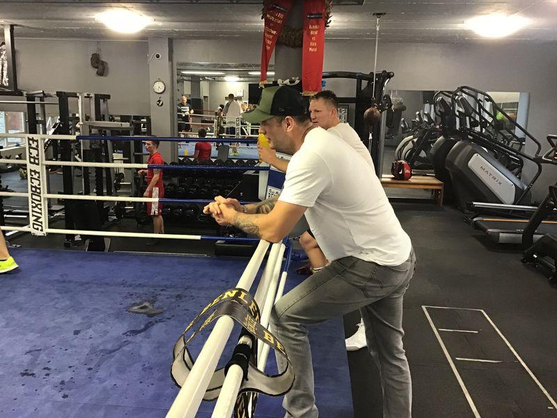 Schwergewichtler Michael Wallisch trainiert sozial benachteiligte Jugendliche
