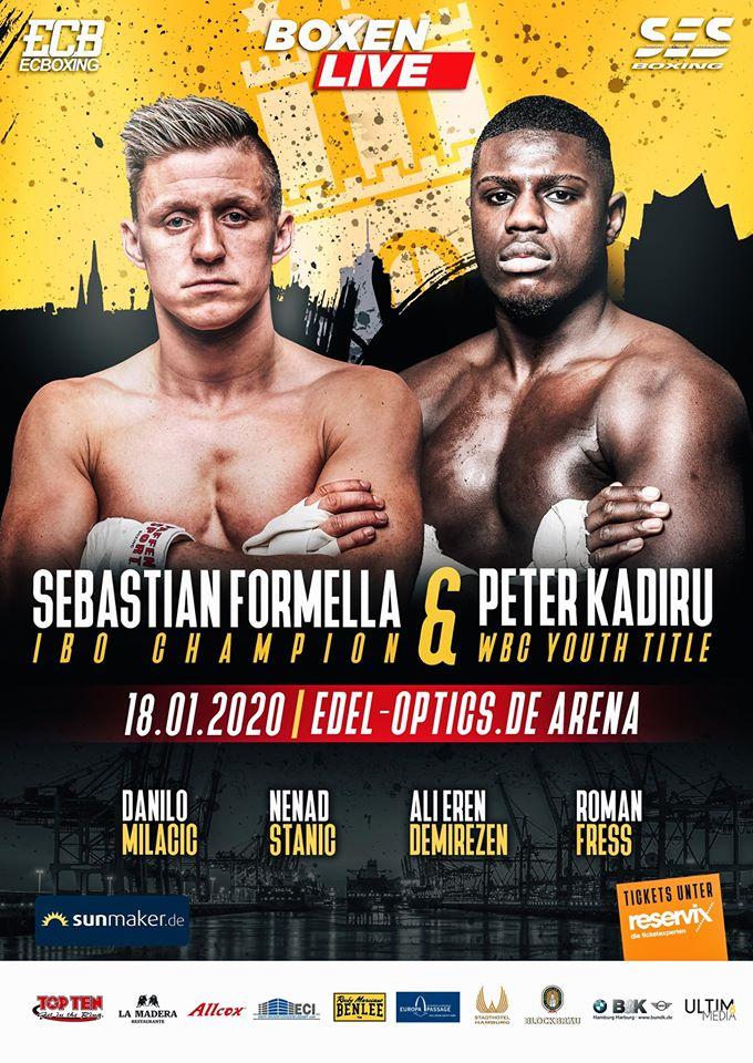 Box-Gala am 18. Januar in der Edel-Optics.de-Arena mit Sebastian Formella