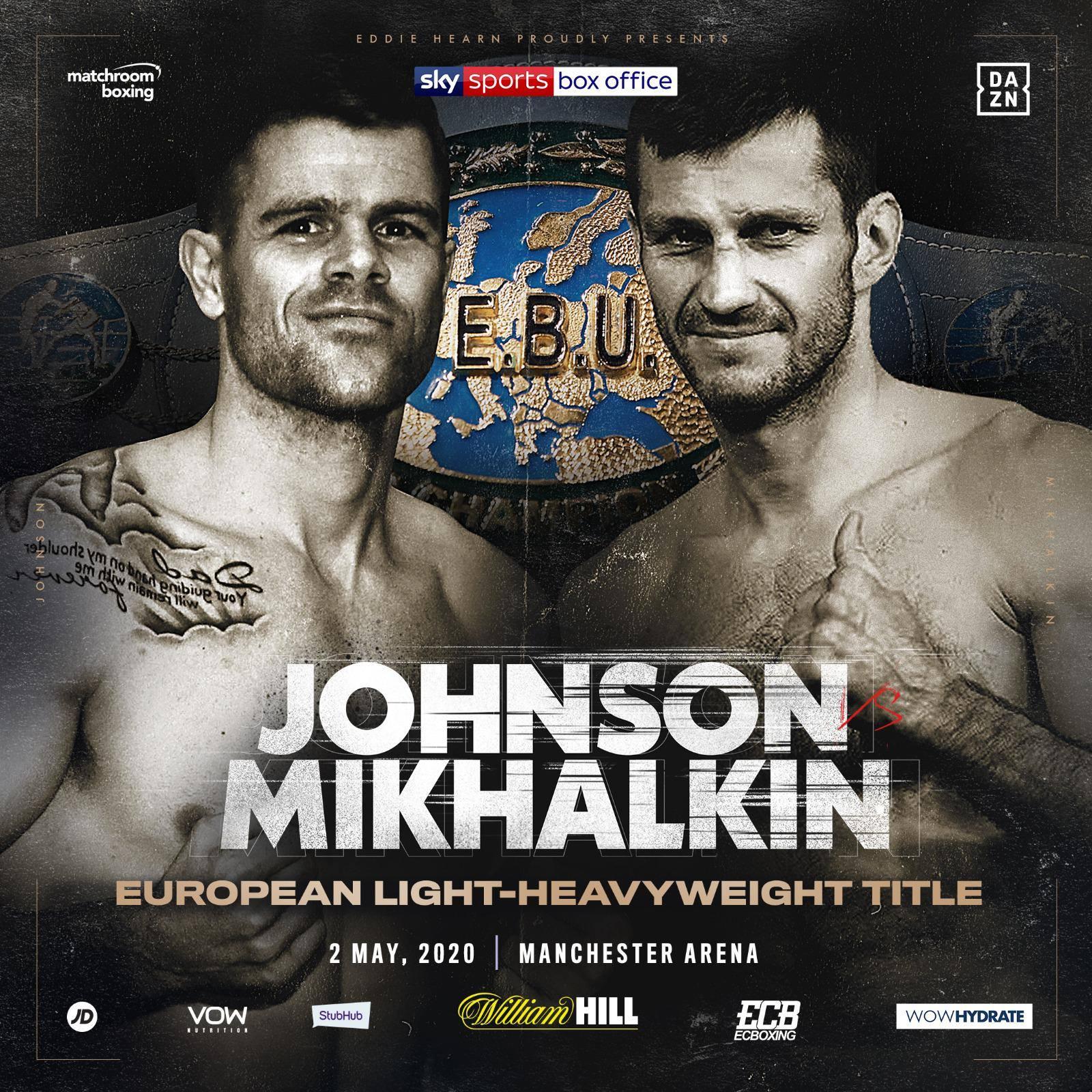 Igor Mikhalkin vs. Callum Johnson am 02. Mai in Manchester