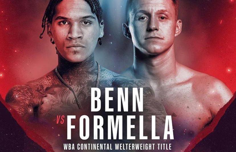 Sebastian Formella vs. Conor Benn am 21. November