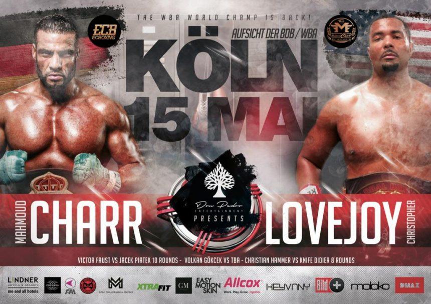 Schwergewichts-Action in Köln – Mahmoud Charr vs. Christopher Lovejoy
